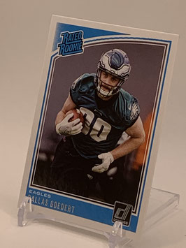 Dallas Goedert (Eagles) 2018 Donruss Rated Rookie #347