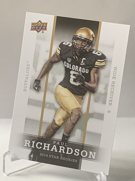 Paul Richardson (Colorado/ Seahawks) 2014 Upper Deck Star Rookies #41
