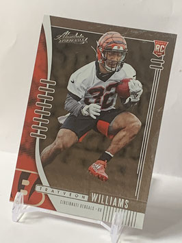 Trayveon Williams (Bengals) 2019 Absolute #150,