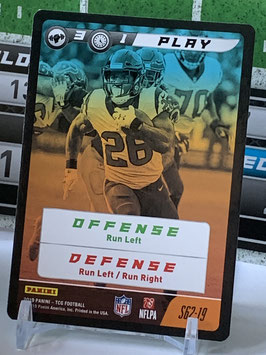 Play: Arian Foster (Texans) 2019 Panini FIVE TCG #62