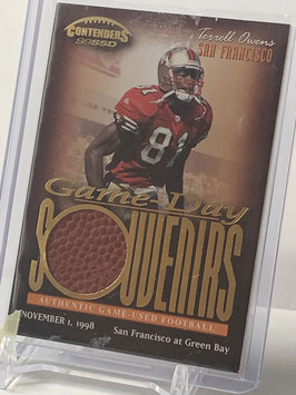 Terrell Owens (49ers) 1999 Contenders SSD Game Day Souvenirs #GS-1