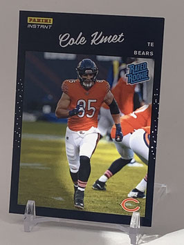 Cole Kmet (Bears) 2020 Panini Instant Rated Rookie #RR18
