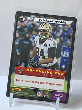 Cameron Jordan (Saints) 2019 FIVE TCG E179