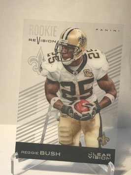 Reggie Bush (Saints) 2015 Panini Clear Vision Rookie Revision #92