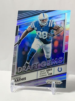 Robert Mathis (Colts) 2016 Prizm Draft Gems Silver Prizm #2