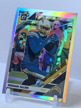 Keenan Allen (Chargers) 2019 Donruss Optic Holo Prizm #51