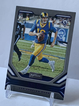 Jared Goff (Rams) 2019 Playbook Purple #82