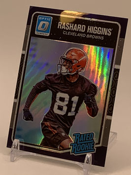 Rashard Higgins (Browns) 2016 Donruss Optic Rated Rookies Purple #192