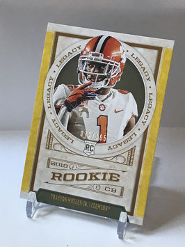 Trayvon Mullen Jr. (Clemson/ Raiders) 2019 Legacy Yellow #197