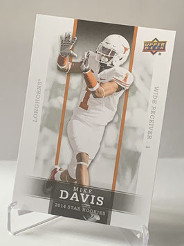 Mike Davis (Texas/ Raiders) 2014 Upper Deck Star Rookies #19
