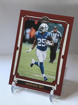 Marlon Mack (Colts) 2019 Legacy Red #46