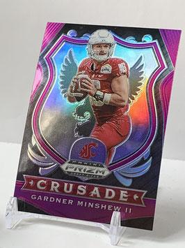 Gardner Minshew II (Washington State/ Jaguars) 2020 Prizm Draft Crusade Pink #55