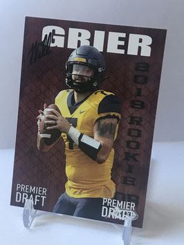 Will Grier (West Virginia) 2019 SAGE HIT #44