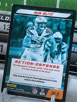 Action Defense: Joey Bosa (Chargers) 2019 Panini Five TCG #S85