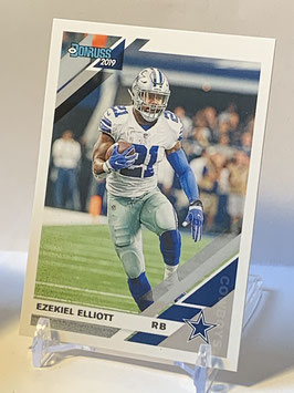 Ezekiel Elliott (Cowboys) 2019 Donruss #75