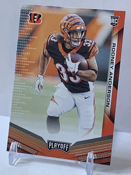 Rodney Anderson (Bengals) 2019 Playoff #272