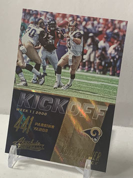 Kurt Warner (Rams) 2017 Absolute Kickoff #5