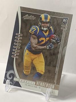 Darrell Henderson (Rams) 2019 Absolute #109