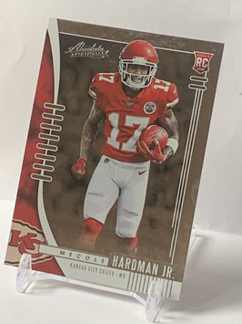 Mecole Hardman Jr. (Chiefs) 2019 Absolute #128