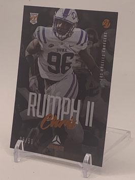 Chris Rumph II (Duke/ Chargers) 2021 Luminance Copper #189