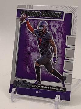 Trevon Moehring-Woodard (TCU/ Raiders) 2021 Contenders School Colors #16