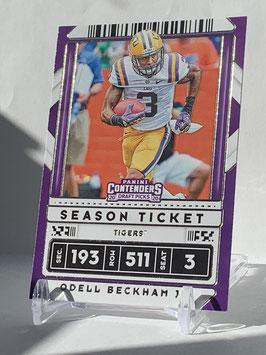 Odell Beckham Jr. (LSU/ Browns) 2020 Contenders Draft Picks #78