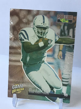 Marshall Faulk (Colts) 1995 Classic Pro Line Game Breakers #GB8