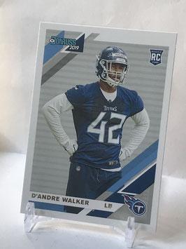 D'Andre Walker (Titans) 2019 Donruss #291