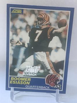 Boomer Esiason (Bengals) 2019 Score Buyback #3