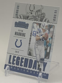 Peyton Manning (Colts) 2020 Contenders Legendary Contenders #LC-PMA