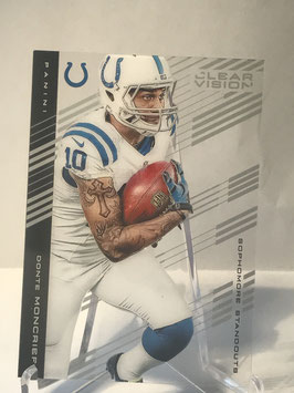 Donte Moncrief (Colts) 2015 Panini Clear Vision #67