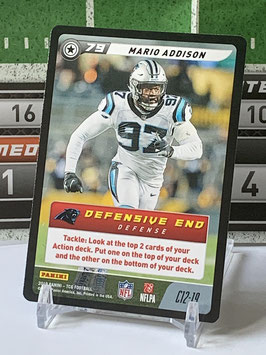 Mario Addison (Panthers) 2019 FIVE TCG C12