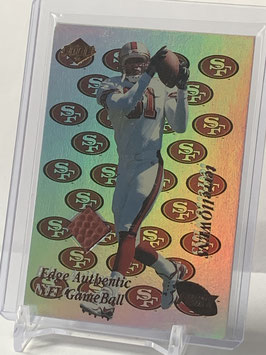 Terrell Owens (49ers) 1999 Collector's Edge NFL Game Ball #TO