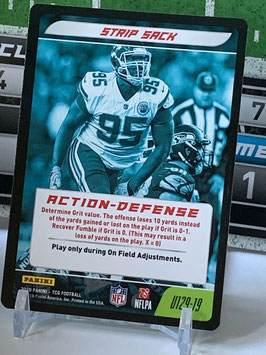 Action Defense: Chris Jones (Chiefs) 2019 Panini Five TCG #U129