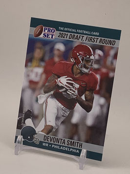 Devonta Smith (Alabama/ Eagles) 2021 Leaf Pro Set Draft Day #PSDD7