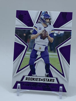 Kirk Cousins (Vikings) 2020 Rookies & Stars #68