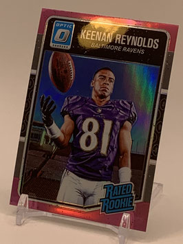 Keenan Reynolds (Ravens) 2016 Donruss Optic Rated Rookies Pink #179