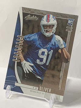 Ed Oliver (Bills) 2019 Absolute #144