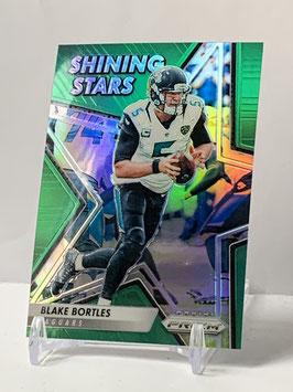 Blake Bortles (Jaguars) 2016 Prizm Shinig Stars Green Prizm #1