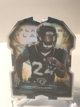 TJ Yeldon (Jaguars) 2015 Topps Platinum Platinum Players Die Cut #PDC-TY