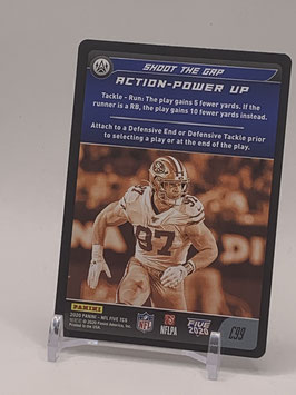Action Power Up: Nick Bosa (49ers) 2020 Panini Five TCG #C99
