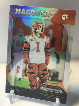 The Tiger (Clemson) 2019 Prizm Draft Picks Silver Prizm #95