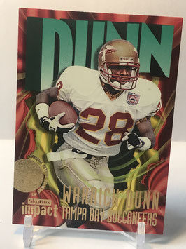 Warrick Dunn (Florida State/ Buccaneers) 1997 Skybox Impact #220