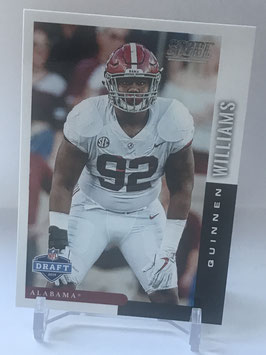 Quinnen Williams (Alabama/ Jets) 2019 Score Draft Day #DFT-8
