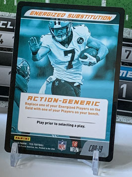 Action Generic: Taysom Hill (Saints) 2019 Panini Five TCG #C80