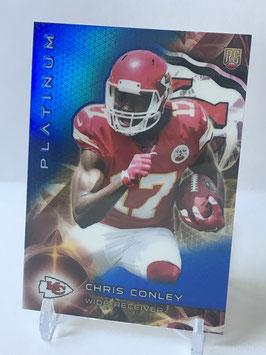 Chris Conley (Chiefs) 2015 Topps Platinum Sapphire Refractor #128
