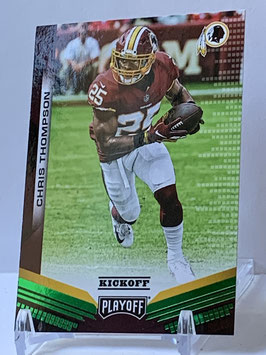 Chris Thompson (Redskins) 2019 Playoff Kick Off Green #111