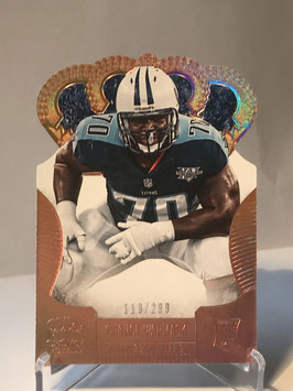 Chance Warmack (Titans) 2013 Panini Crown Royale Retail Bronze Holo Die-Cut Crown #137
