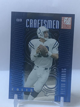 Peyton Manning (Colts) 2000 Donruss Elite Craftsmen #C-3