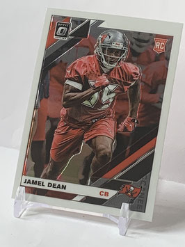 Jamel Dean (Buccaneers) 2019 Donruss Optic #135